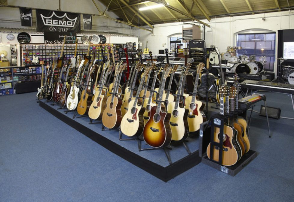 musical equipment hire