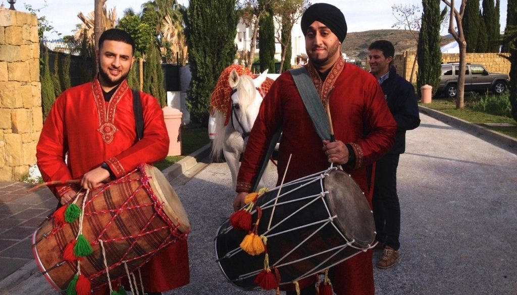Indian wedding Villa Padierna Marbella