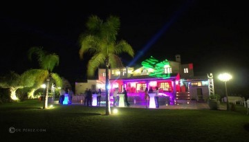 villa africa sound and lighting hire