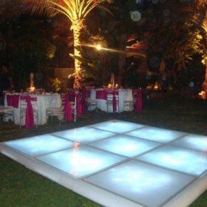 hire best dance floor on the costa del sol