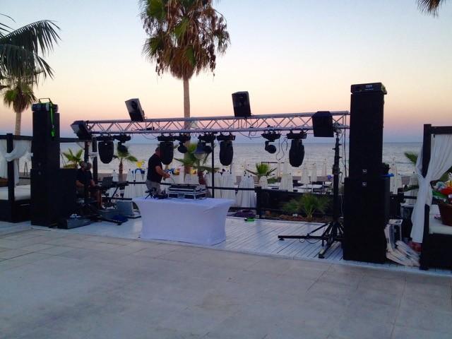 Large DJ / Band Sound & Lighting System