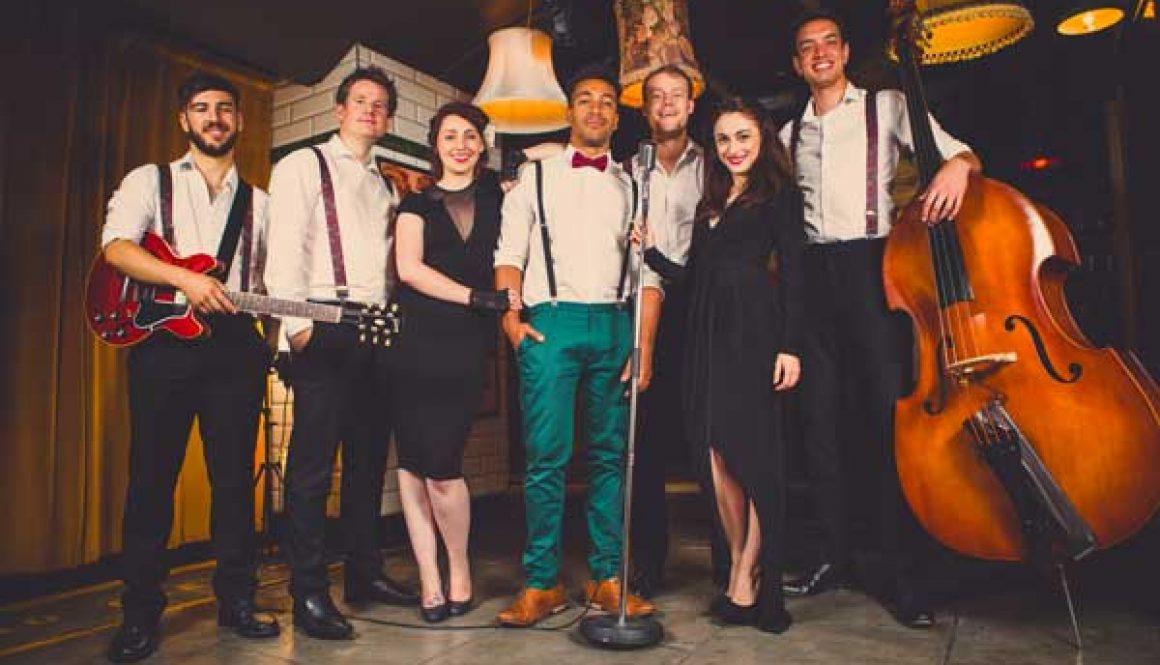 Bond Street London's top function band