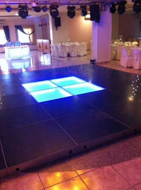 led dance floor costa del sol