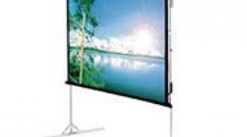 fastfold projector screen hire