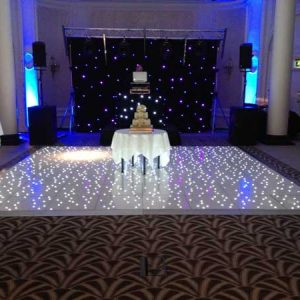 led dance floor hire costa del sol