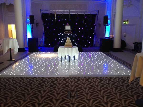 led dance floor hire costa del sol