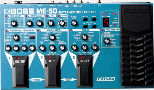 boss me50 pedal for hire