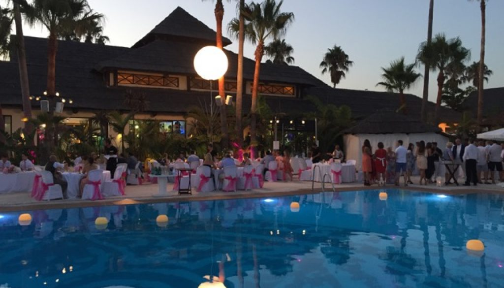 puro beach wedding