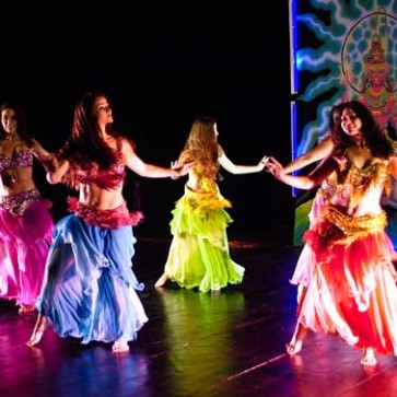 Belly Dance Instrument  Letters