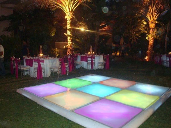 hire led dance floor Estepona
