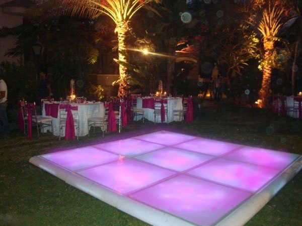 hire led dance floor Marbella