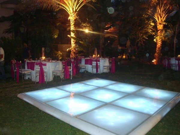 hire led dance floor sotogrande