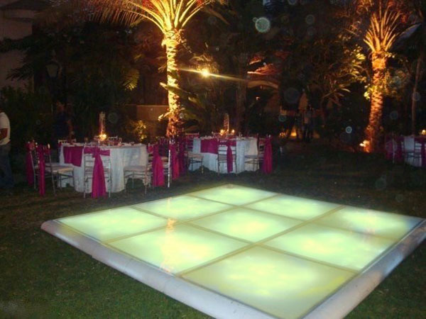 hire led dance floor Costa del Sol