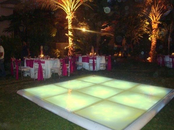 hire led dance floor Costa del Sol
