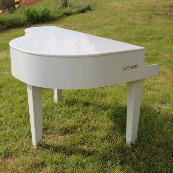 Dummy Mini Grand Piano in white for hire