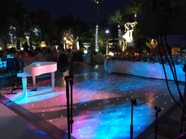 mini grand piano hire costa del sol , marbella