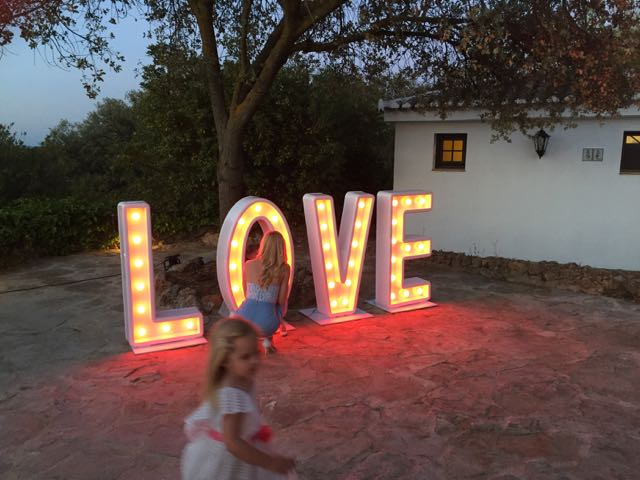 love letters hire costa del sol
