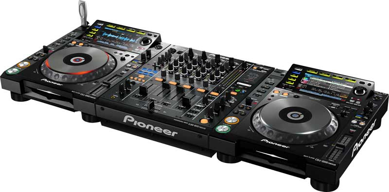 Pioneer CDJ package for hire