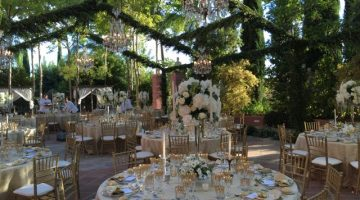 event decoration villa padierna