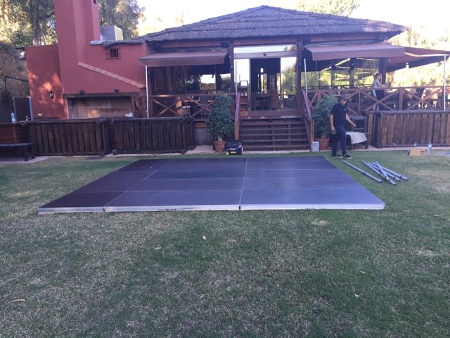 dance floor hire costa del sol