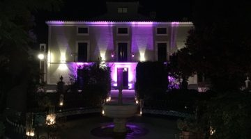 led uplight for hire costa del sol