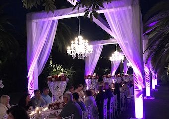 Beautiful event decoration